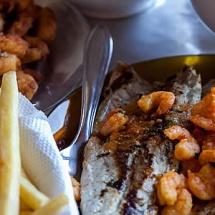 Camarão com Fritas